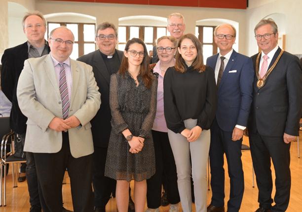 """снимка от откриването на конференцията, публикувана в редица печатни и онлайн медии, отразили """"Седмицата на Европа"""", проведена от 2. до 5. май 2019 г. в гр. Падерборн - Германия"""