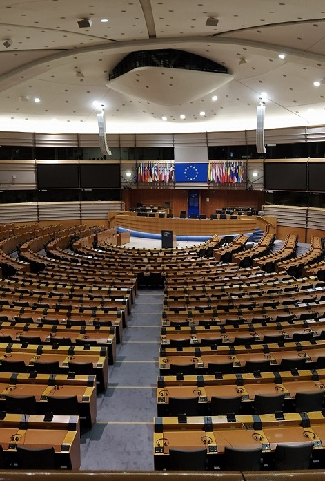 залата на Европейския парламент