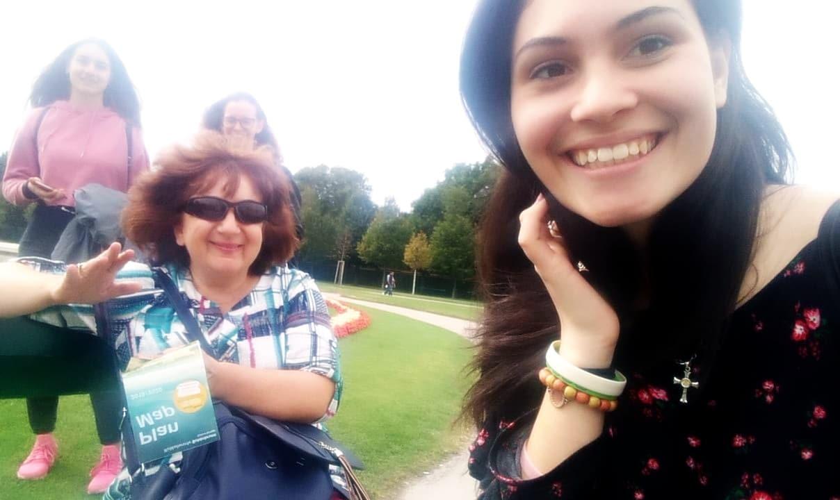екипът ни на път към Лиепая - Латвия